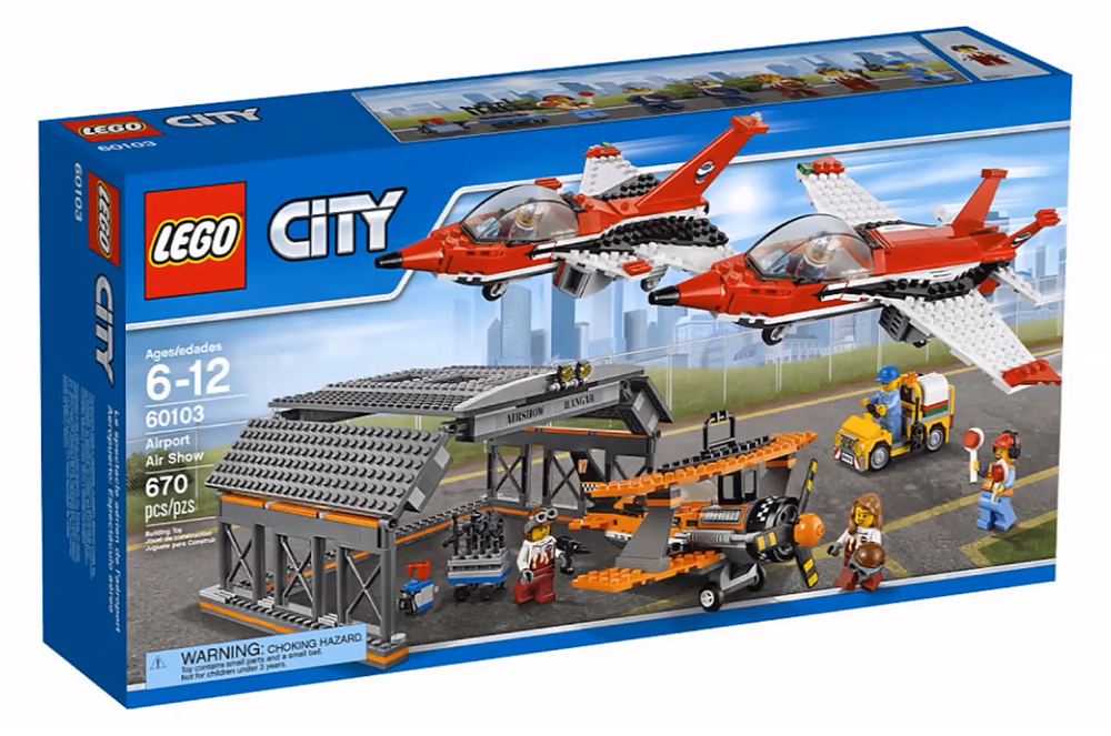 LEGO City Airport Air Show - 60103 - Photo 1