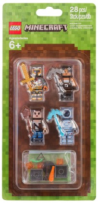 LEGO Minecraft 853610 - Assortiment d'habillages #2