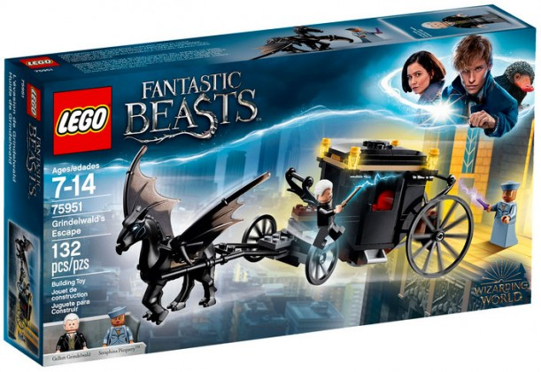 Nouveau LEGO Harry Potter 75951 Grindelwald's Escape (Fantastic Beasts) 2018