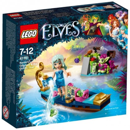 Nouveau LEGO Elves 41181 Naida's Gondola and the Thieving Goblin 2017