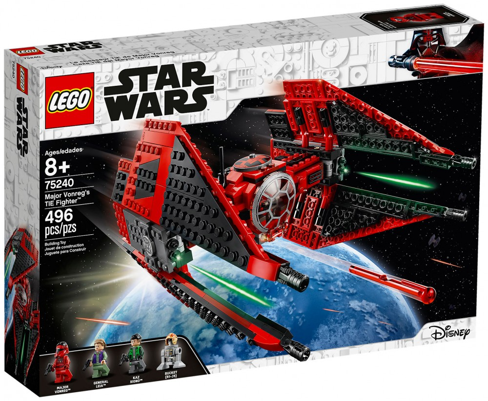 Nouveau LEGO Star Wars 75240 TIE Fighter de Major Vonreg