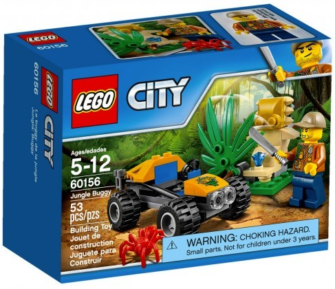 Nouveau LEGO City 60156 Le buggy de la jungle Juin 2017