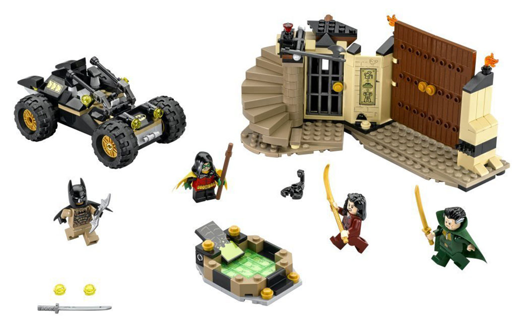 LEGO DC Comics 76056 - Rescue from Ra's Al Ghul - Photo 2
