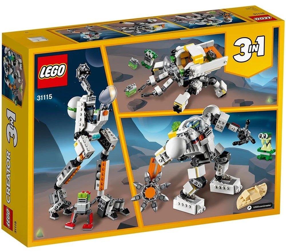 Nouveau LEGO Creator 31115 Space Mining Mech // Mars 2021