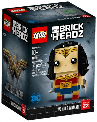 Nouveau LEGO BrickHeadz 41599 Wonder Woman (DC Comics) 2018