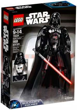 Nouveau LEGO Star Wars 75534 Dark Vador (Buildable Figures) 2018
