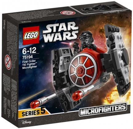 Nouveau LEGO Star Wars 75194 First Order TIE Fighter Microfighter 2018