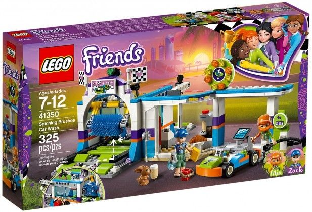 Nouveau LEGO Friends 41350 Spinning Brushes Car Wash 2018