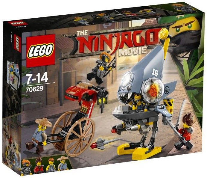LEGO The Ninjago Movie 70629 Piranha Chase