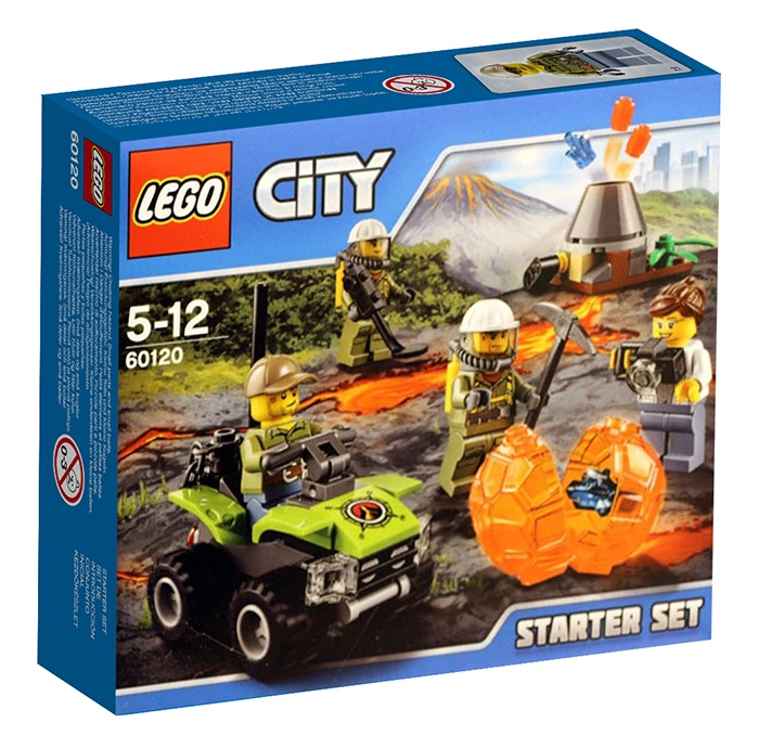 LEGO City Volcano Starter Set - 60120 - Photo 1