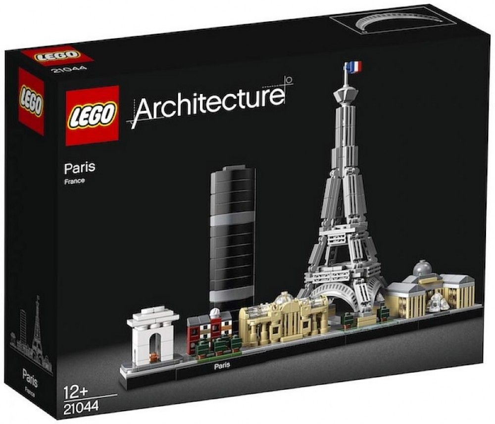 Nouveau LEGO Architecture 21044 Paris, France 2019