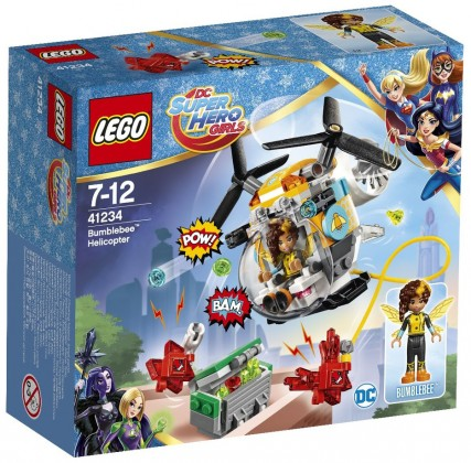Nouveau LEGO DC Super Hero Girls 41234 Bumblebee Helicopter