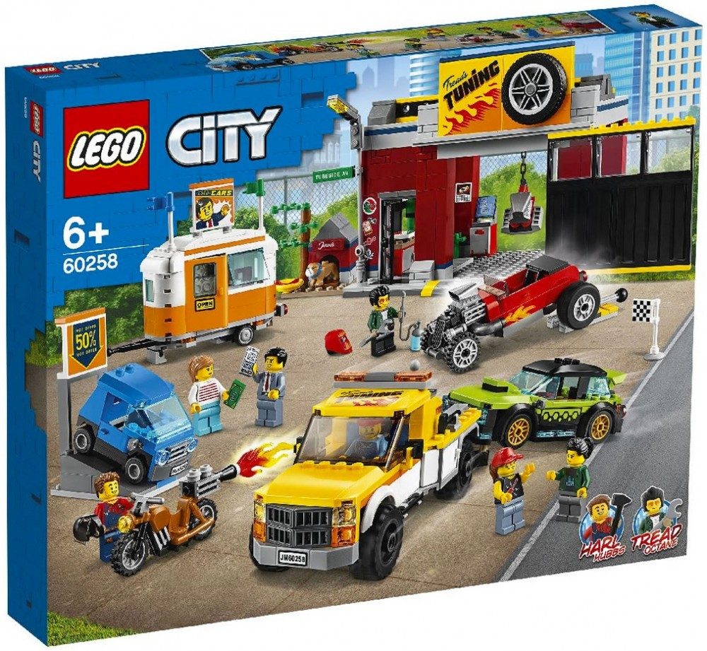 Nouveau LEGO City 60258 Tuning Workshop // Janvier 2020