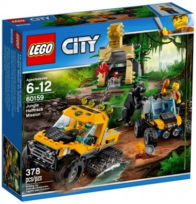 Nouveau LEGO City 60159 L'excursion dans la jungle Juin 2017