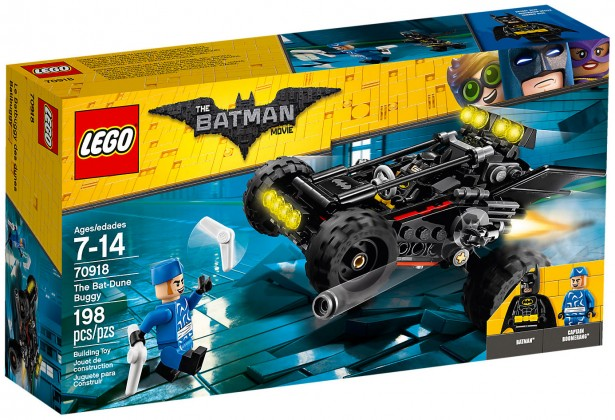 Nouveau LEGO The Batman Movie 70918 Le Bat-Buggy 2018