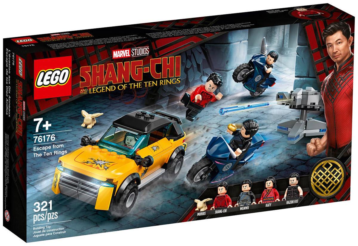 LEGO Marvel 76176 Shang-Chi : L'évasion des Dix Anneaux // Août 2021