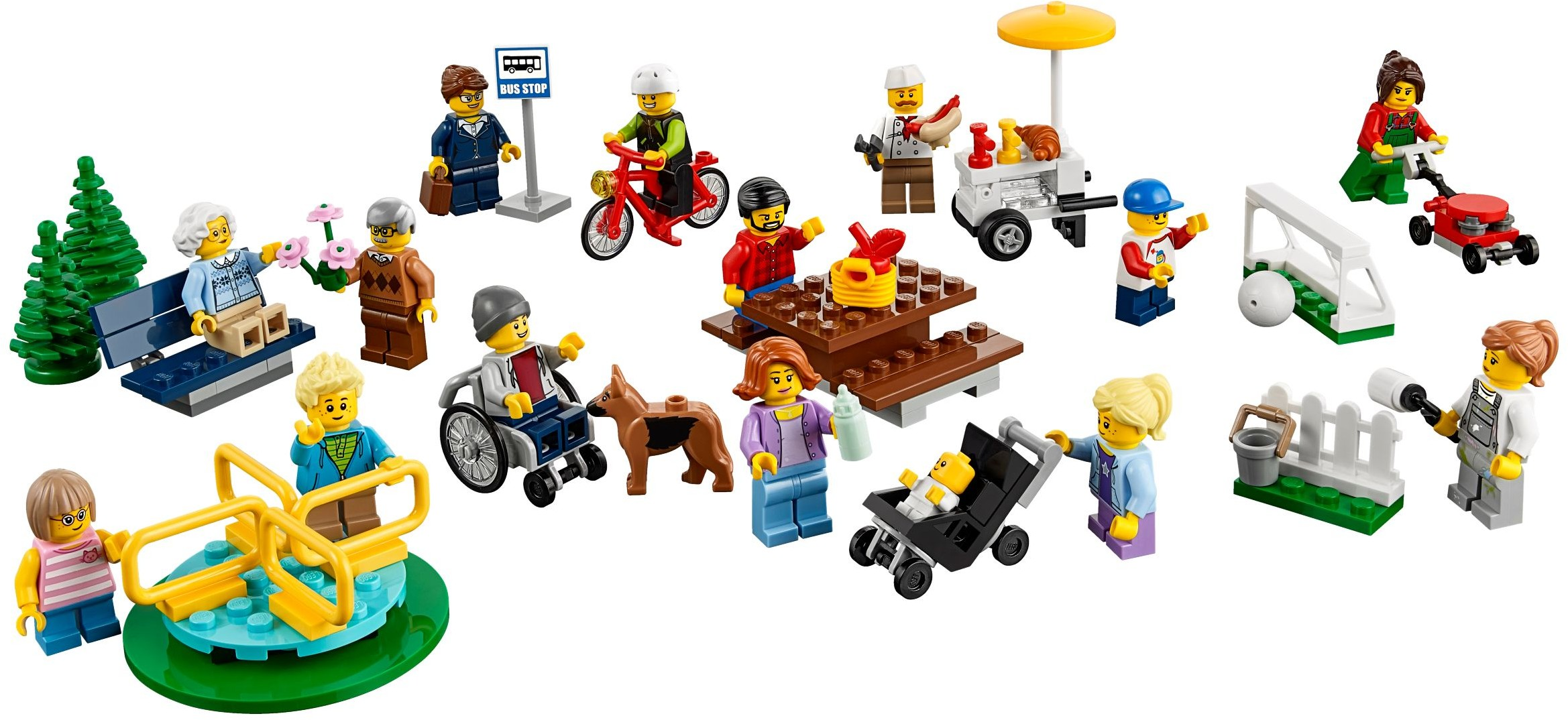 LEGO City Fun in the Park - City People Pack - 60134 - Photo 2