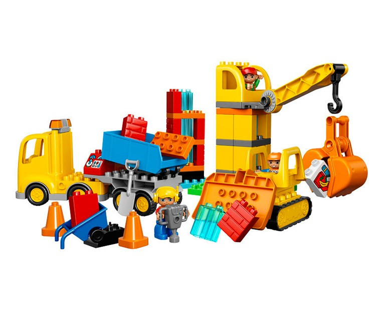 LEGO Duplo Big Construction Site - 10813 - Photo 2