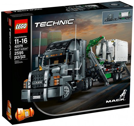 Nouveau LEGO Technic 42078 Mack Anthem 2018