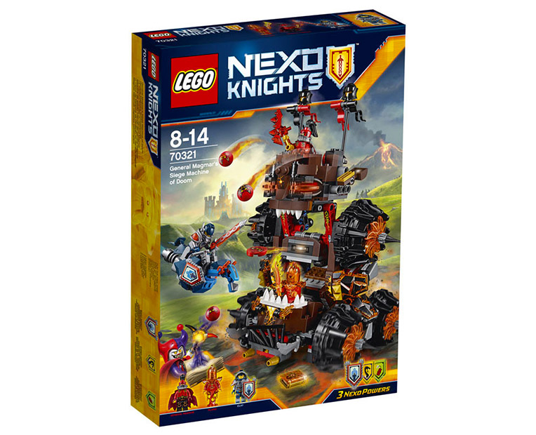LEGO Nexo Knights 70321 - General Magmar's Siege Machine of Doom - Photo 1