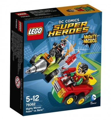 LEGO DC Comics 76062 - Robin contre Bane
