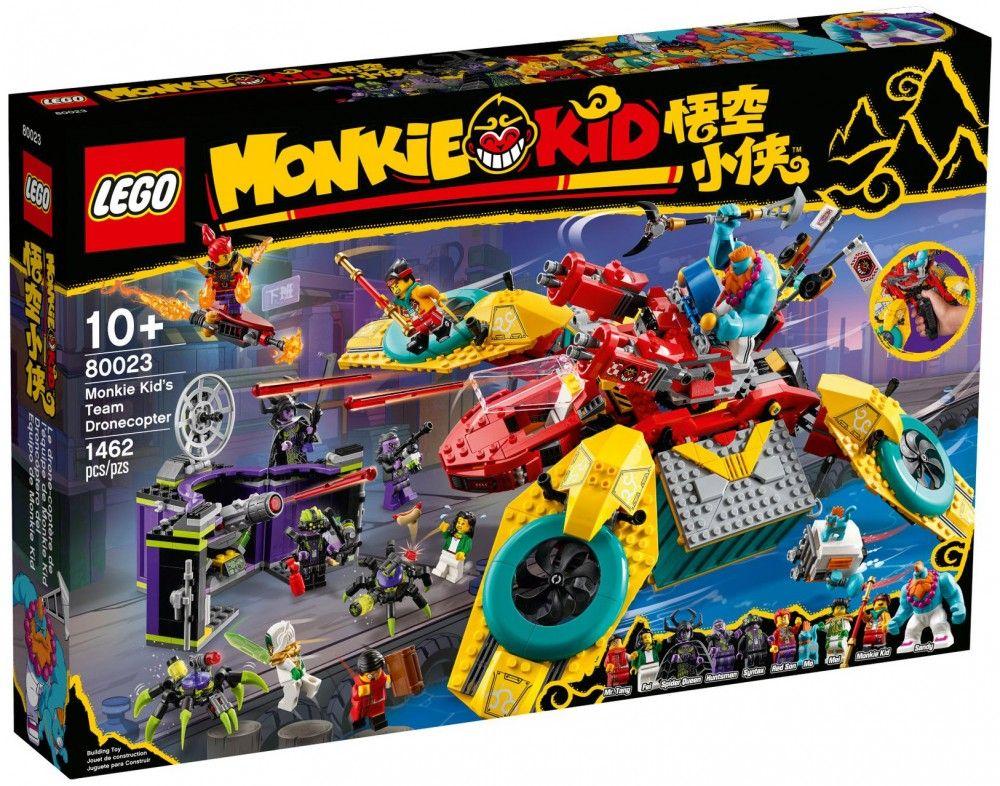 Nouveau LEGO Monkie Kid 80023 Le drone-coptère de l'équipe de Monkie Kid  // Mars 2021