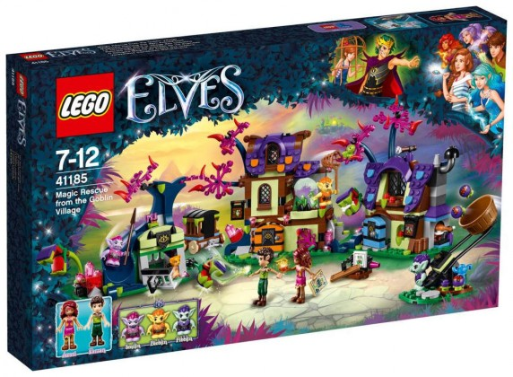 Nouveau LEGO Elves 41185 Magic Rescue from the Goblin Village 2017