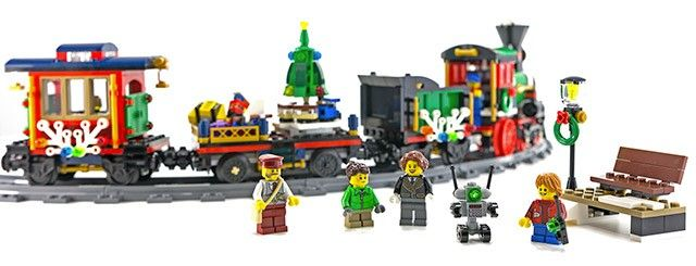 Le train de Noël LEGO Creator 10254