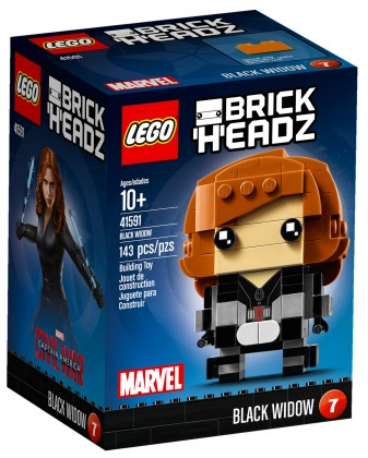 Nouveau LEGO BrickHeadz 41591 Black Widow 2017
