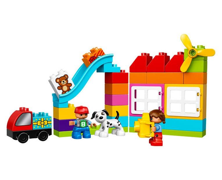 LEGO Duplo Creative Construction basket - 10820 - Photo 2