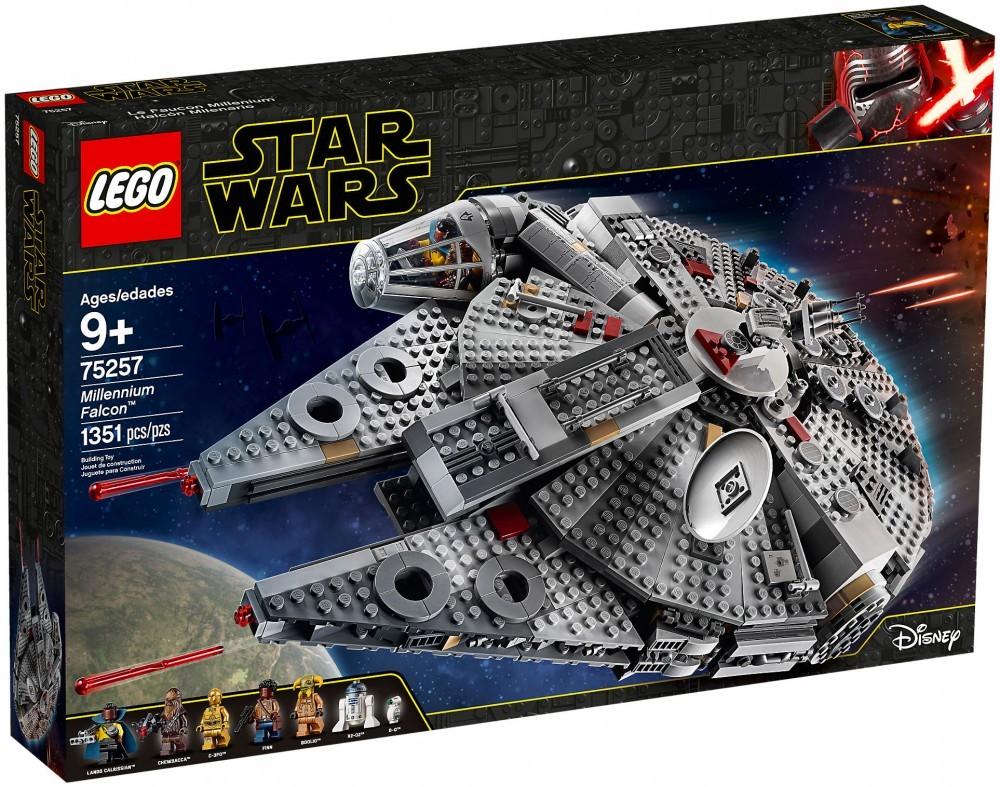 Nouveau LEGO Star Wars 75257 Faucon Millenium
