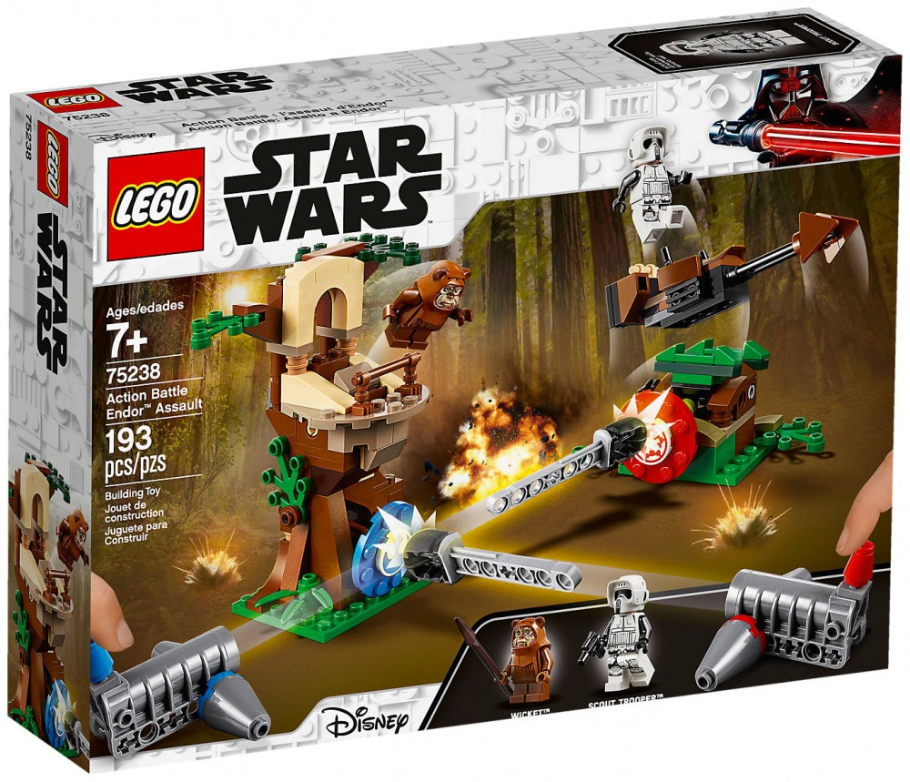 Nouveau LEGO Star Wars 75238 Action Battle L'assault d'Endor