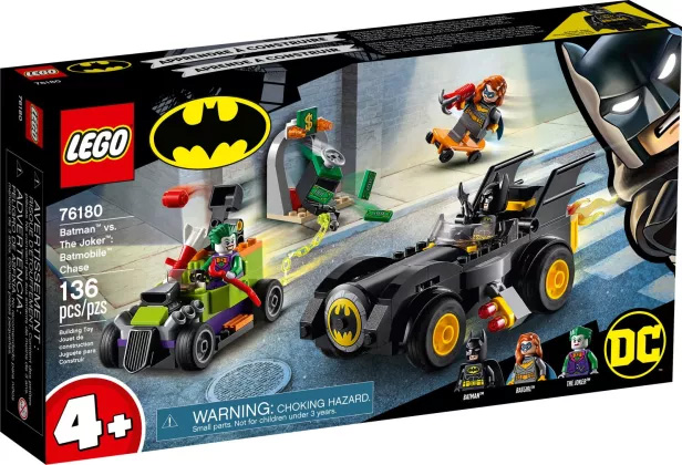 Nouveau LEGO DC Comics 76180 Batman contre le Joker : course-poursuite en Batmobile // Mai 2021