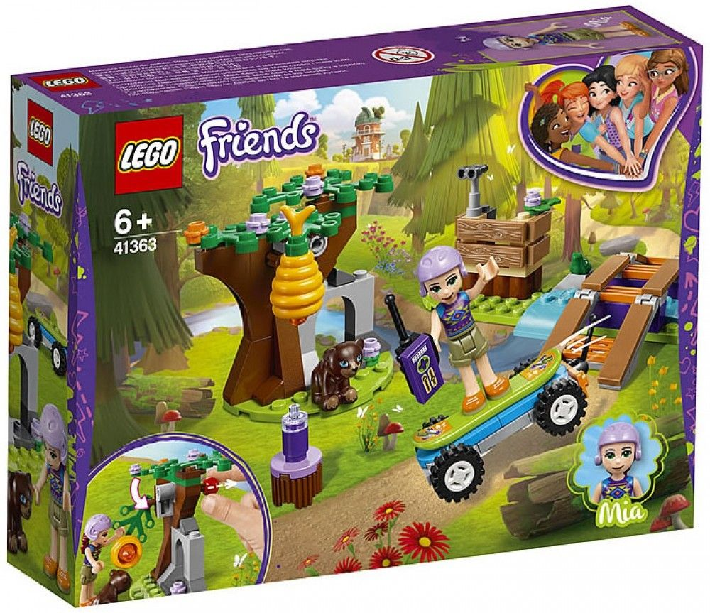 Nouveau LEGO Friends 41363 Mia's Forest Advendures 2019