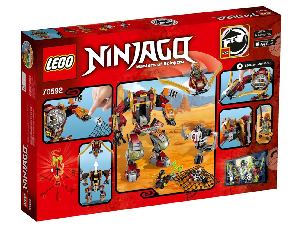 LEGO Ninjago 70592 - Salvage M.E.C. - Photo 2