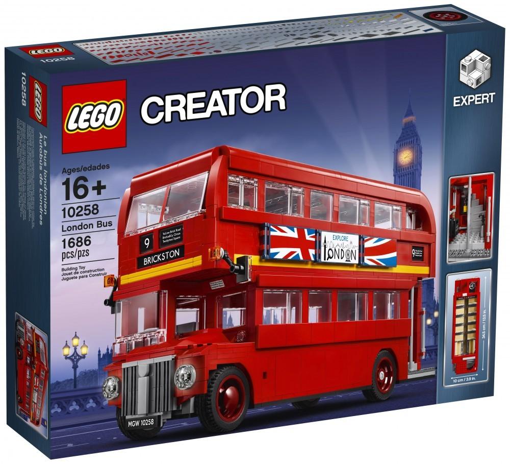 Nouveau LEGO Creator 10258 London Bus 2017