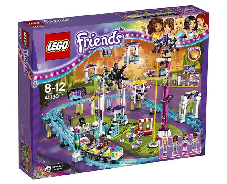 LEGO Friends 41130 - Amusement Park Roller Coaster - Photo 1