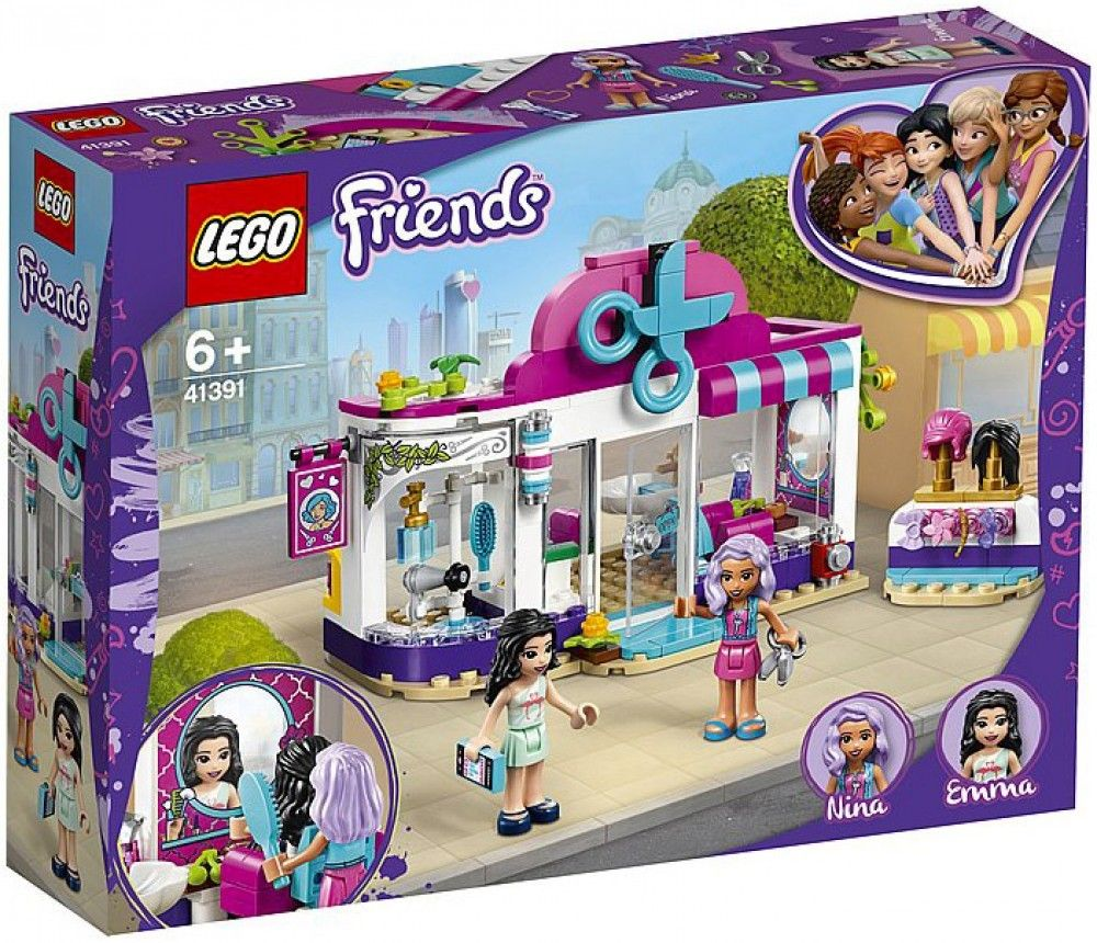 Nouveau LEGO Friends 41391 Heartlake City Hair Salon // Janvier 2020