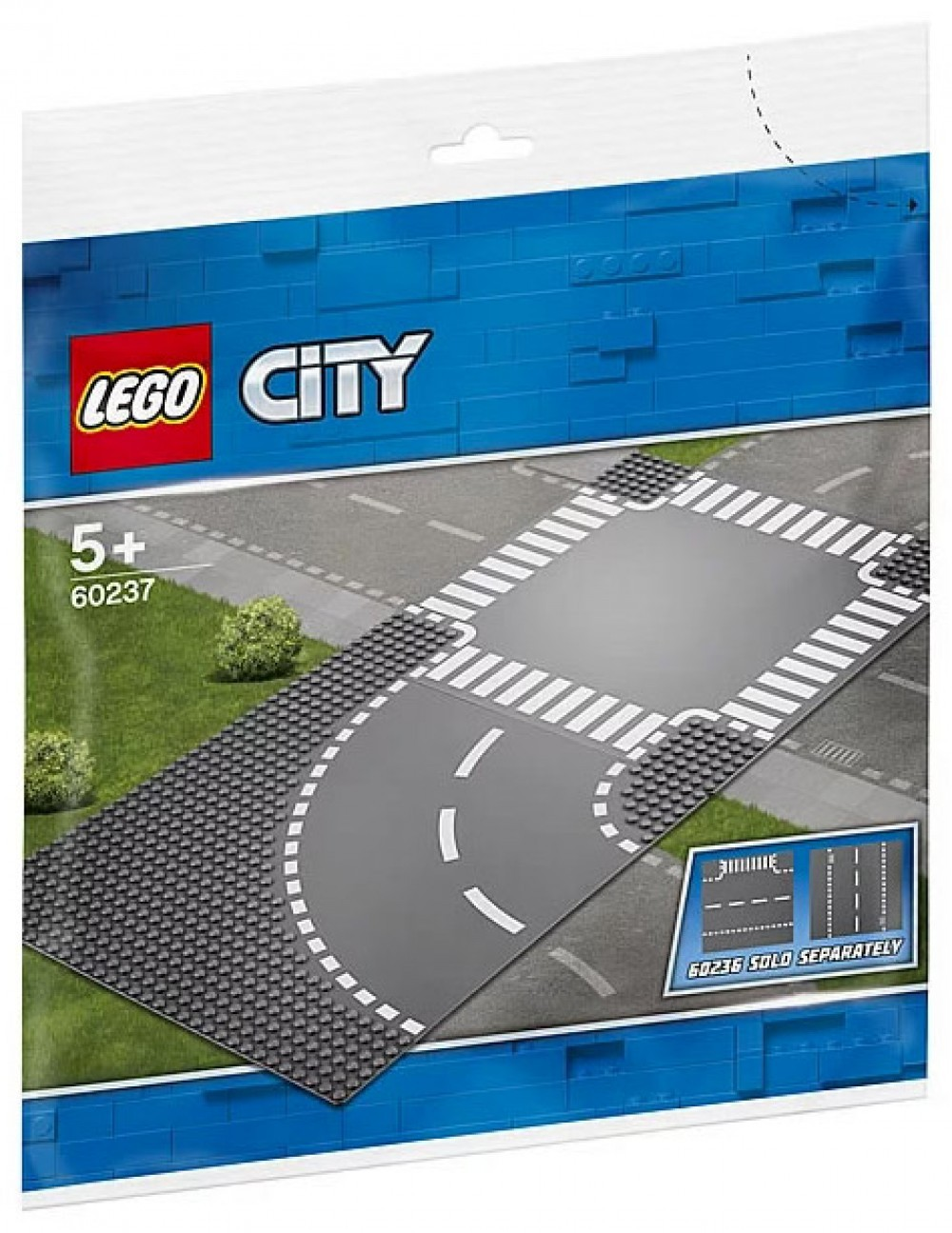 Nouveau LEGO City 60237 Curves & Crossroad 2019