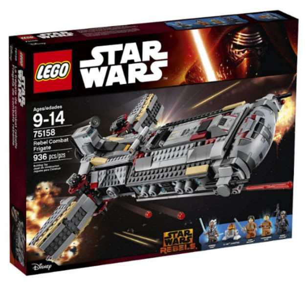 LEGO Star Wars 75158 - Rebel Combat Frigate - Photo 1