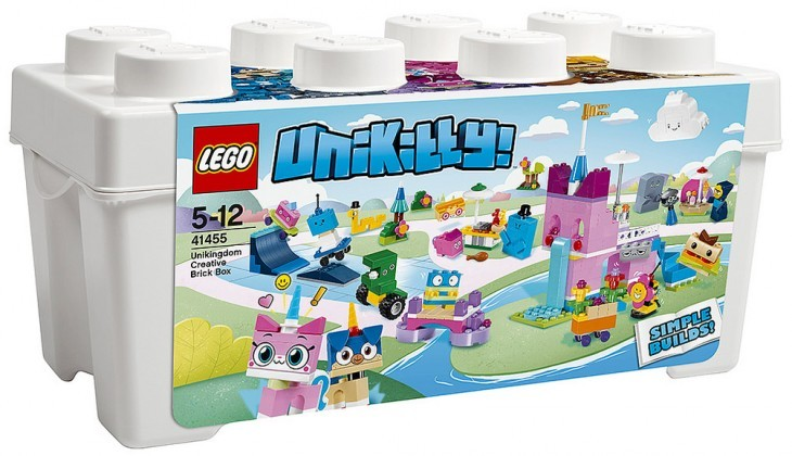 Nouveau LEGO Unikitty 41455 Unikingdom Creative Brick Box 2018