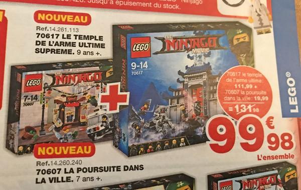 Du Lego Mois Les Promotions Maxitoys D'octobre Chez QshCrdt