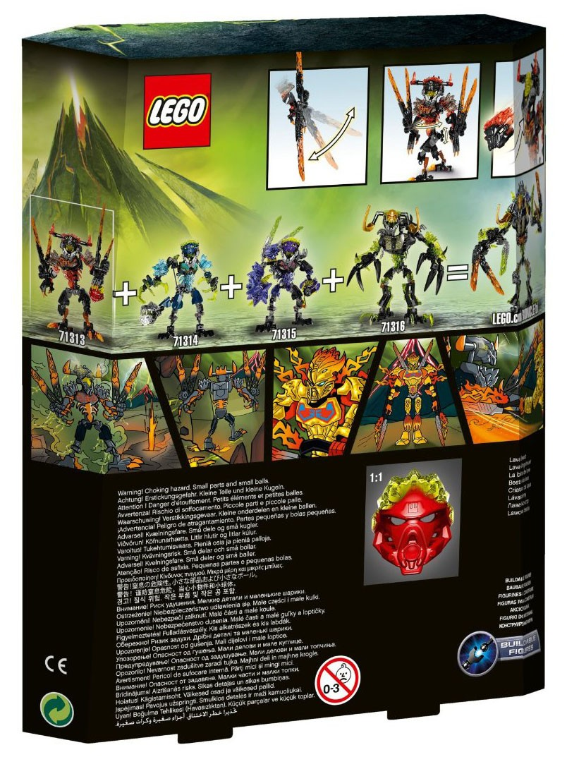 LEGO Bionicle 71313 - La bête de lave - photo 2