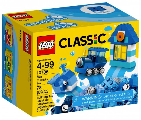 Nouveau LEGO Classic 10706 Blue Creativity Box 2017