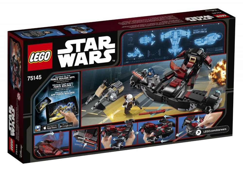 LEGO Star Wars Eclipse Fighter - 75145 - Photo 2