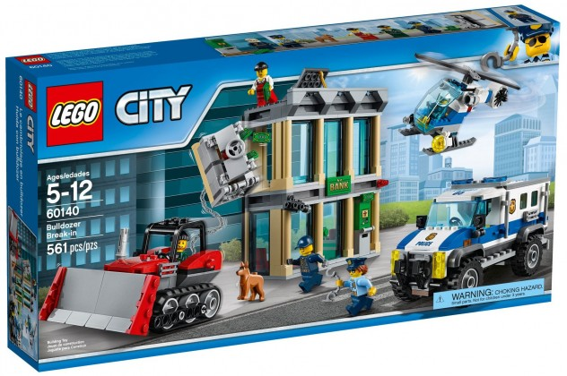 Nouveau LEGO City 60140 Bulldozer Break-in