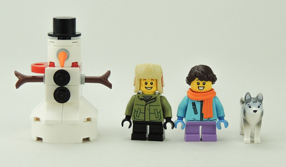 personnages lego 40424