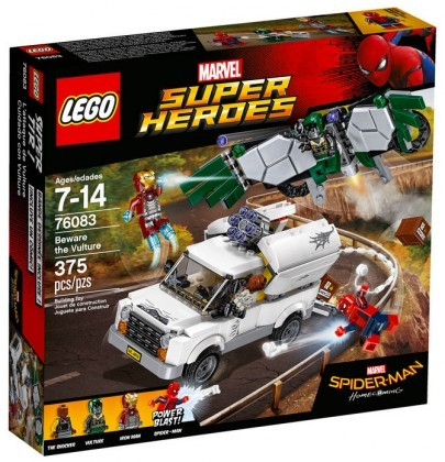 LEGO Marvel 76083 L'attaque aérienne de Vautour (Spiderman Homecoming) Juin 2017