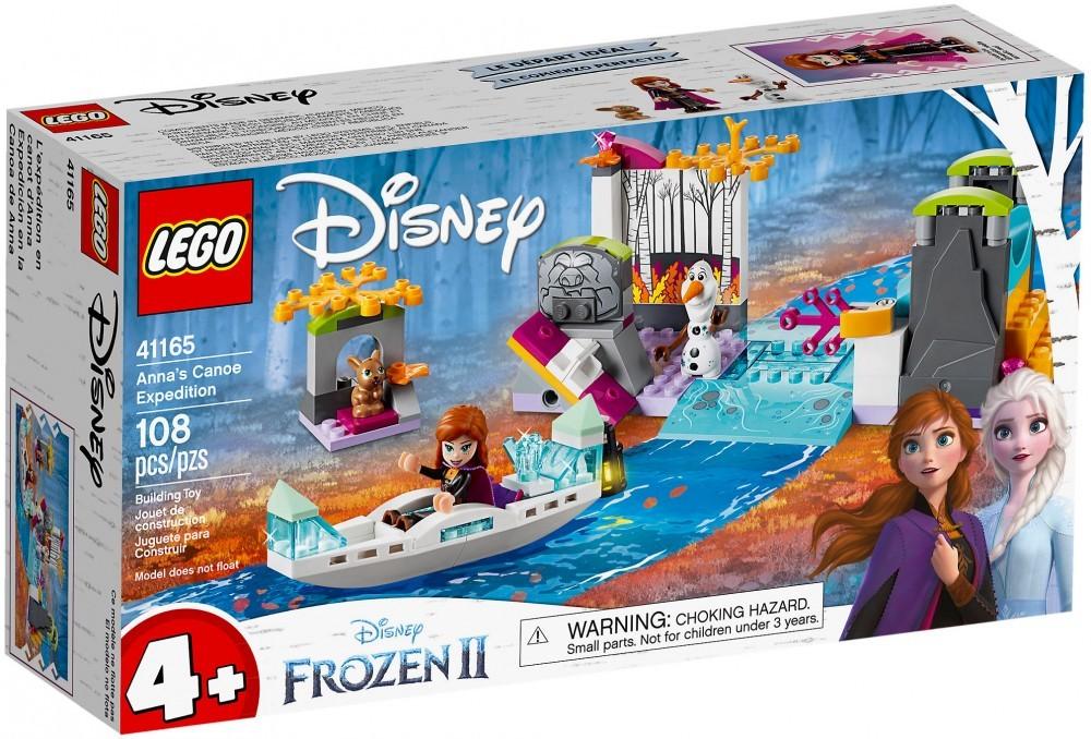Nouveau LEGO Disney 41165 L'expédition en canoë d'Anna