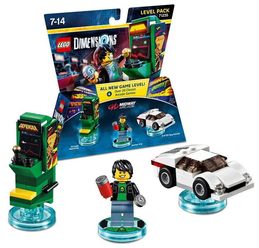 LEGO Dimensions Pack Aventure Midway Arcade 71235